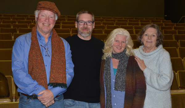 David Hurley, Geoff Johnson, Dympna McConnell and Sandie Cond.