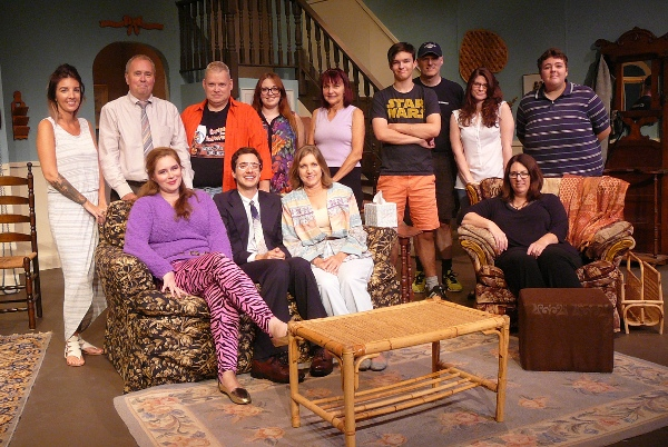 The cast and crew of Skin Flick